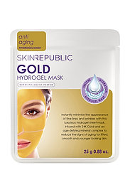 Gold Hydrogel Face Mask - CLEAR