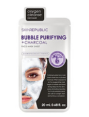 Bubble Purifying + Charcoal Face Mask - CLEAR