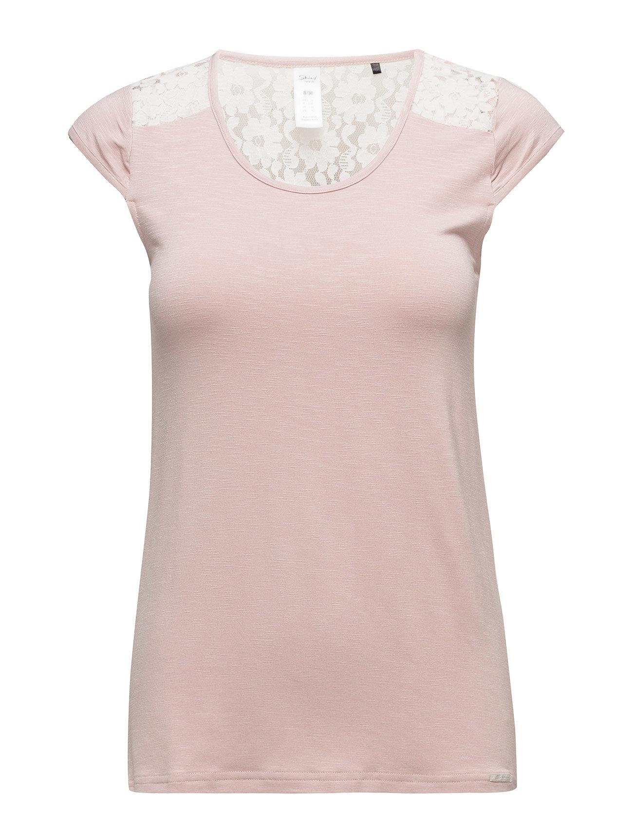 L. Shirt S/Slv Skiny Kortærmede til Damer i Nøgen