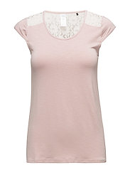 L. shirt s/slv - NUDE