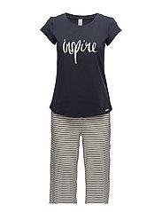 L. pyjama 3/4 - MOONLESS NIGHT