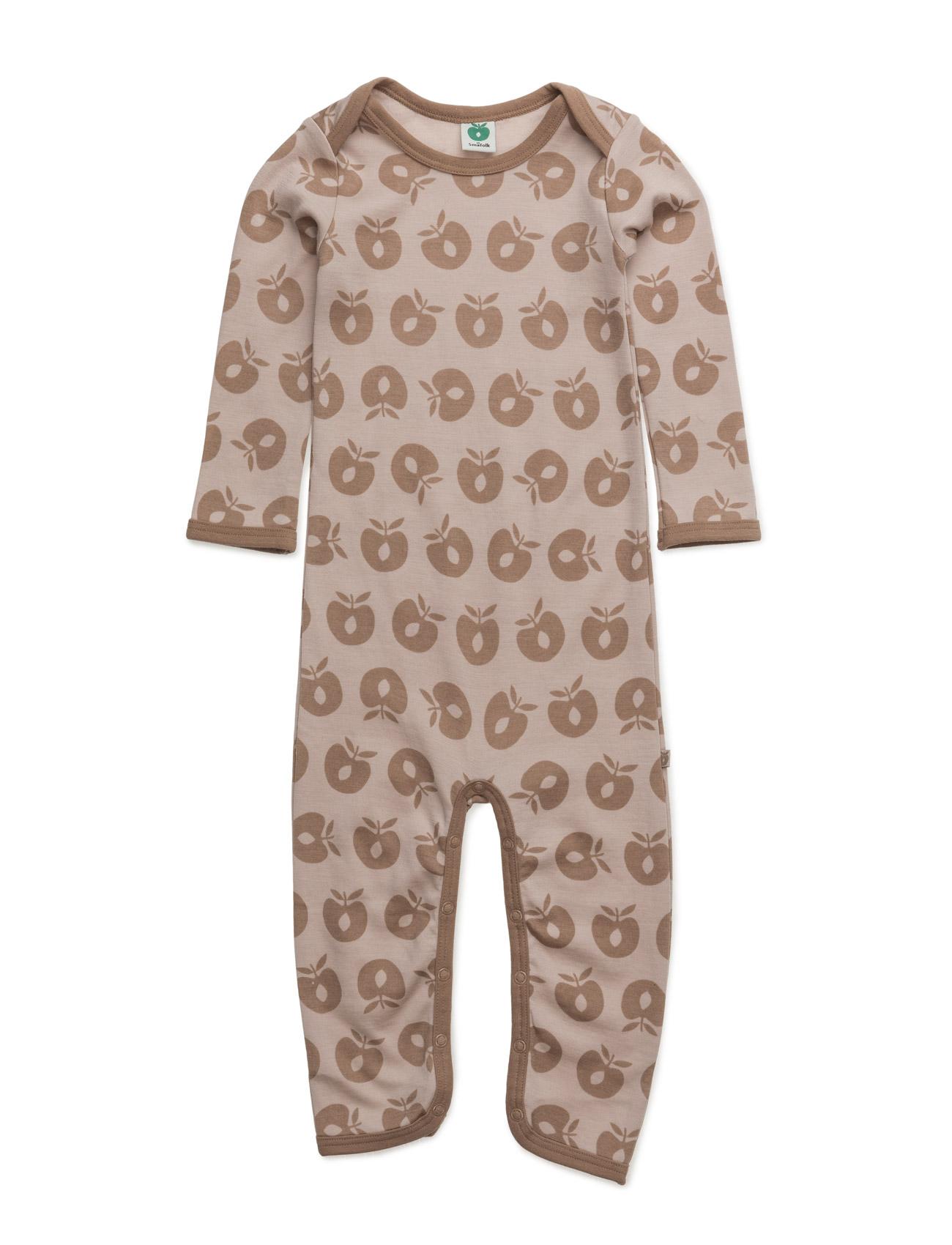 Body Suit Ls Wool. Apples Småfolk Langærmede bodies til Børn i