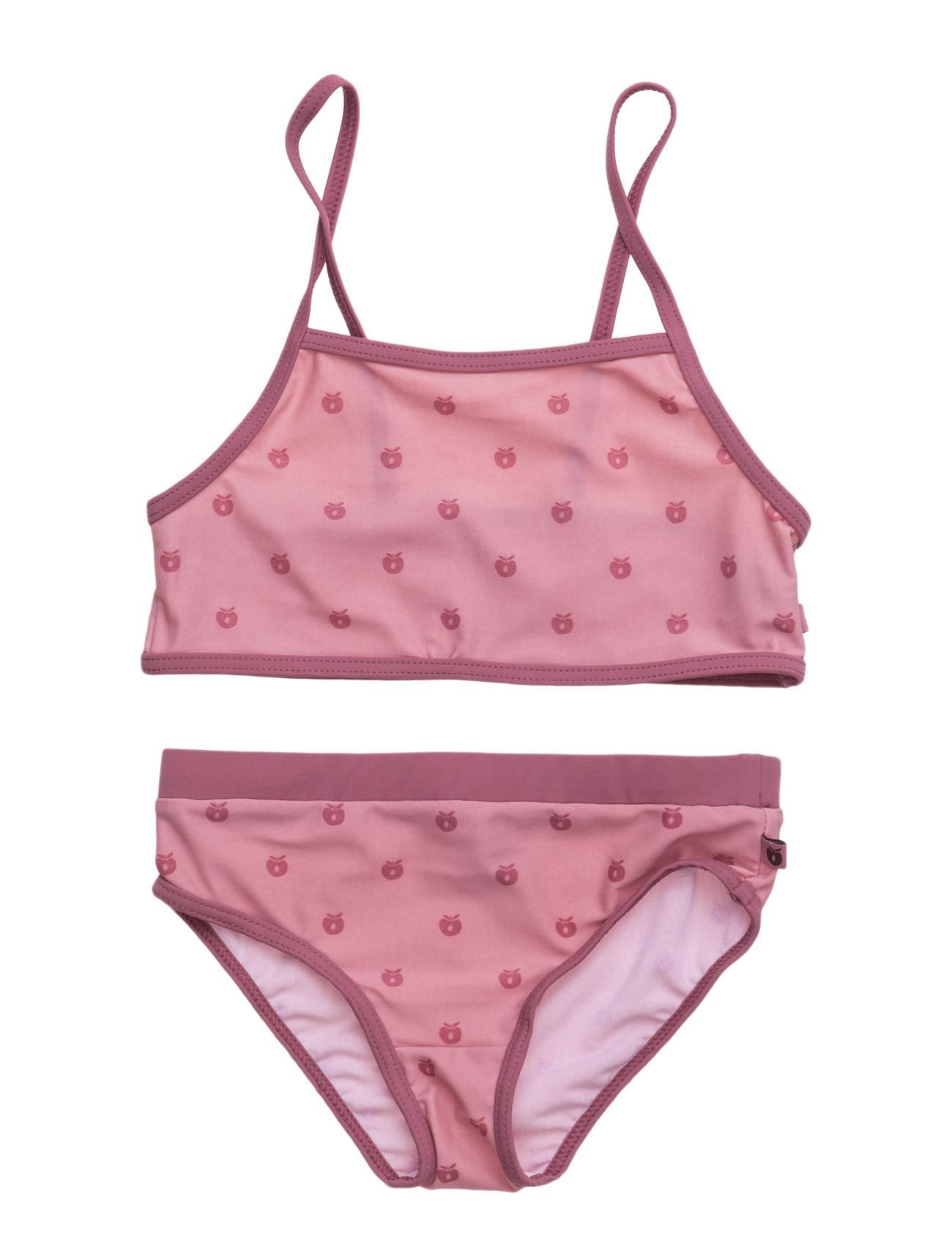 Swimwear, Bikini, Apples Småfolk Badetøj til Piger i Rødme
