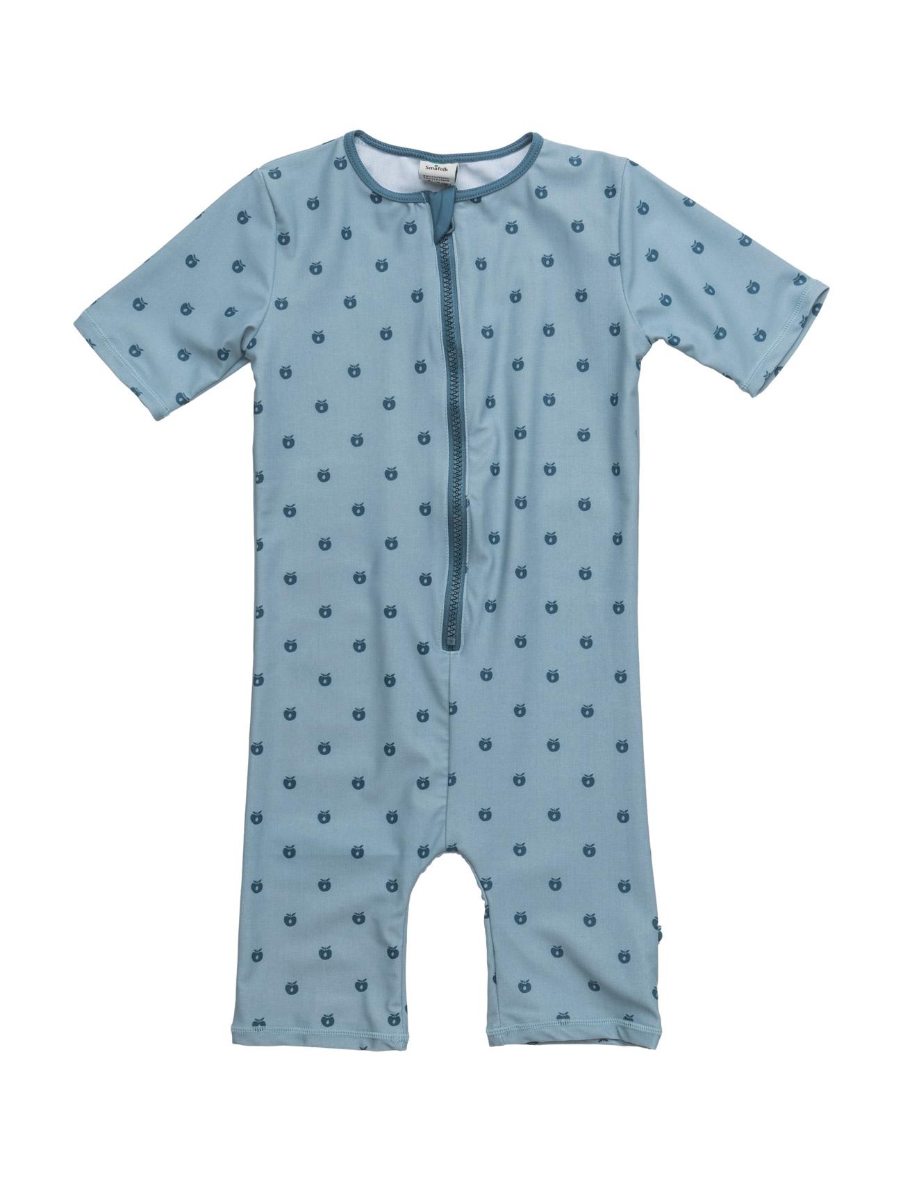 Swimsuit. Apples. Short Legs/Sl Småfolk Badetøj til Børn i