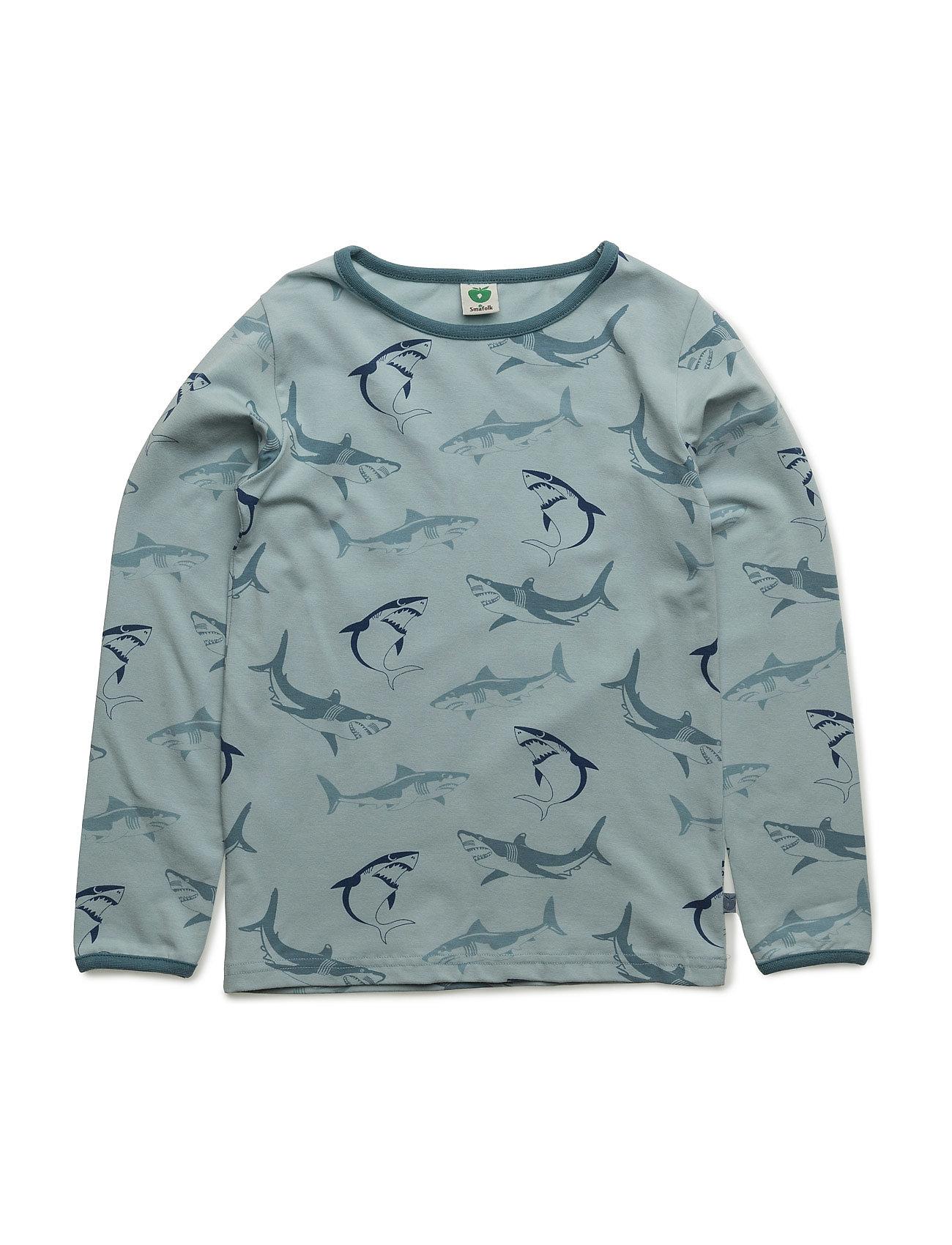 T-Shirt Ls. Shark Småfolk Langærmede t-shirts til Børn i