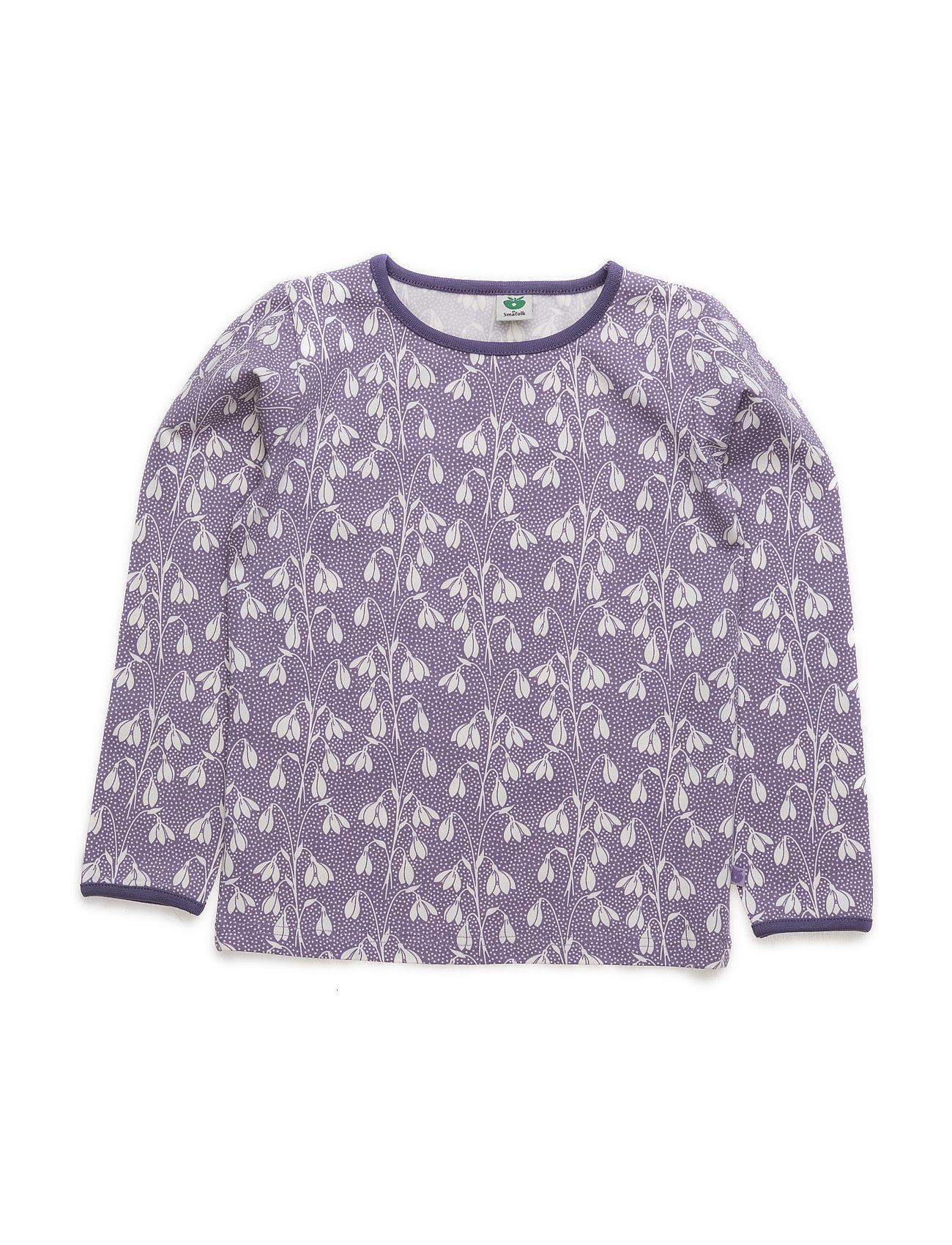 T-Shirt Ls. Flowers Småfolk Langærmede t-shirts til Børn i