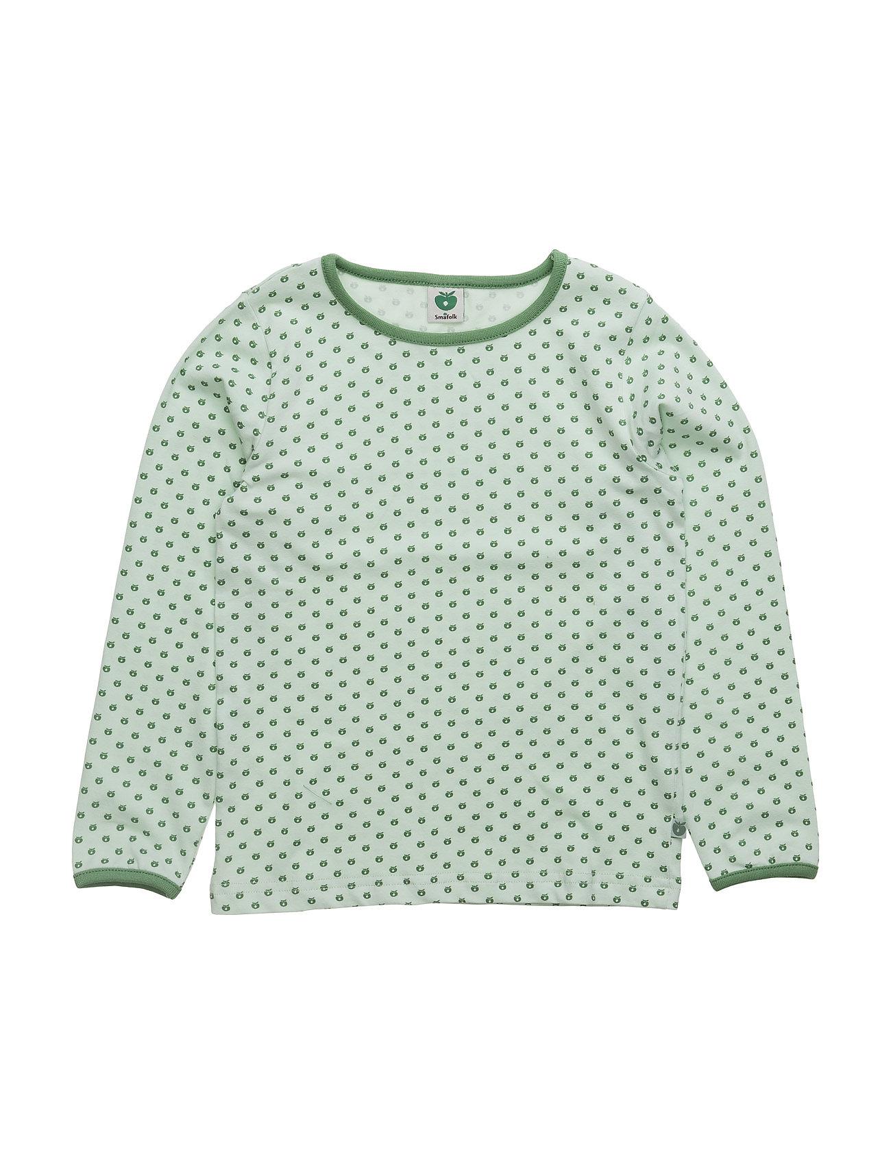 T-Shirt Ls. Micro Apples Småfolk Langærmede t-shirts til Børn i