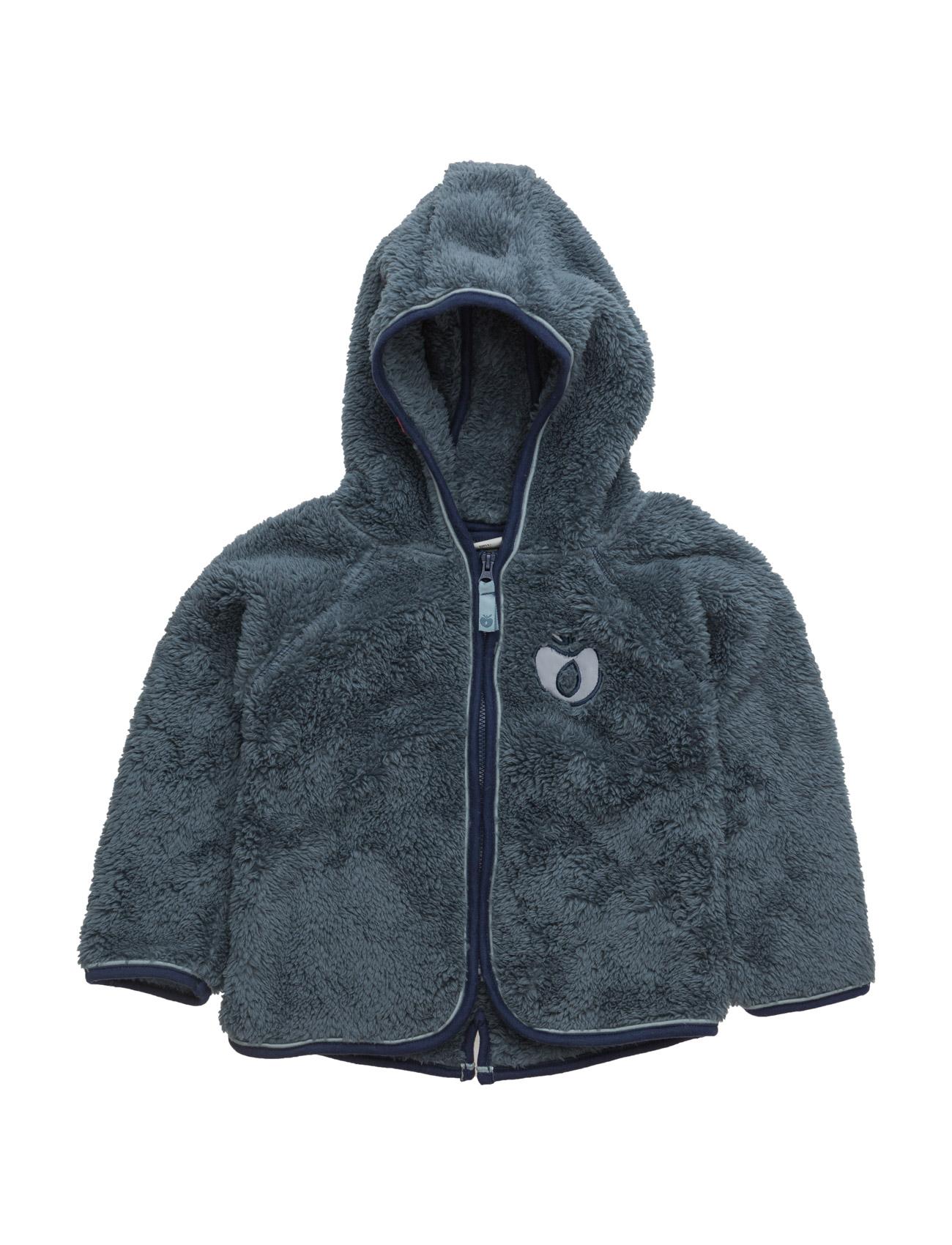 Baby Fleece With Hood & Zipper Småfolk Fleece til Børn i