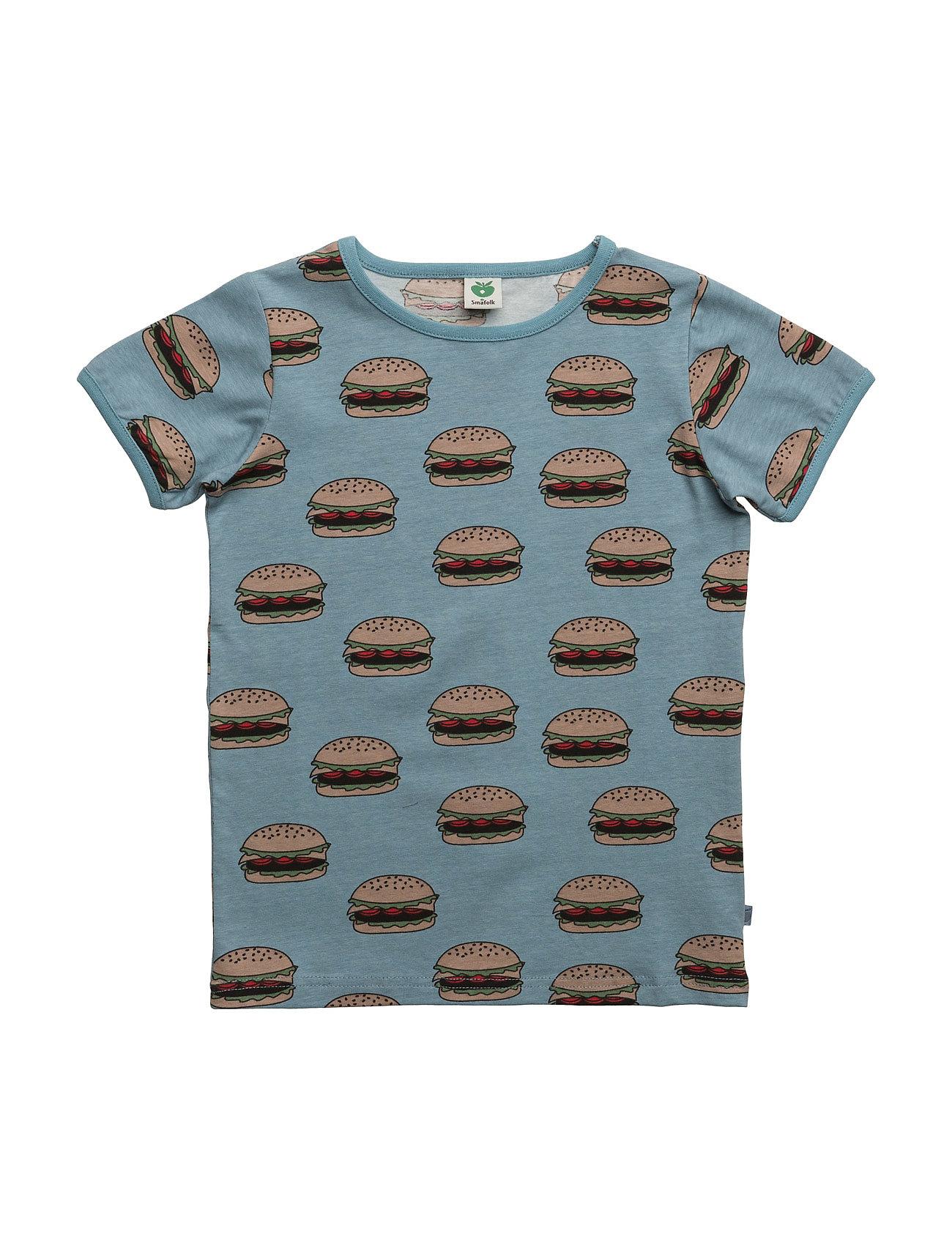 T-Shirt With Burger Småfolk T-shirts til Drenge i