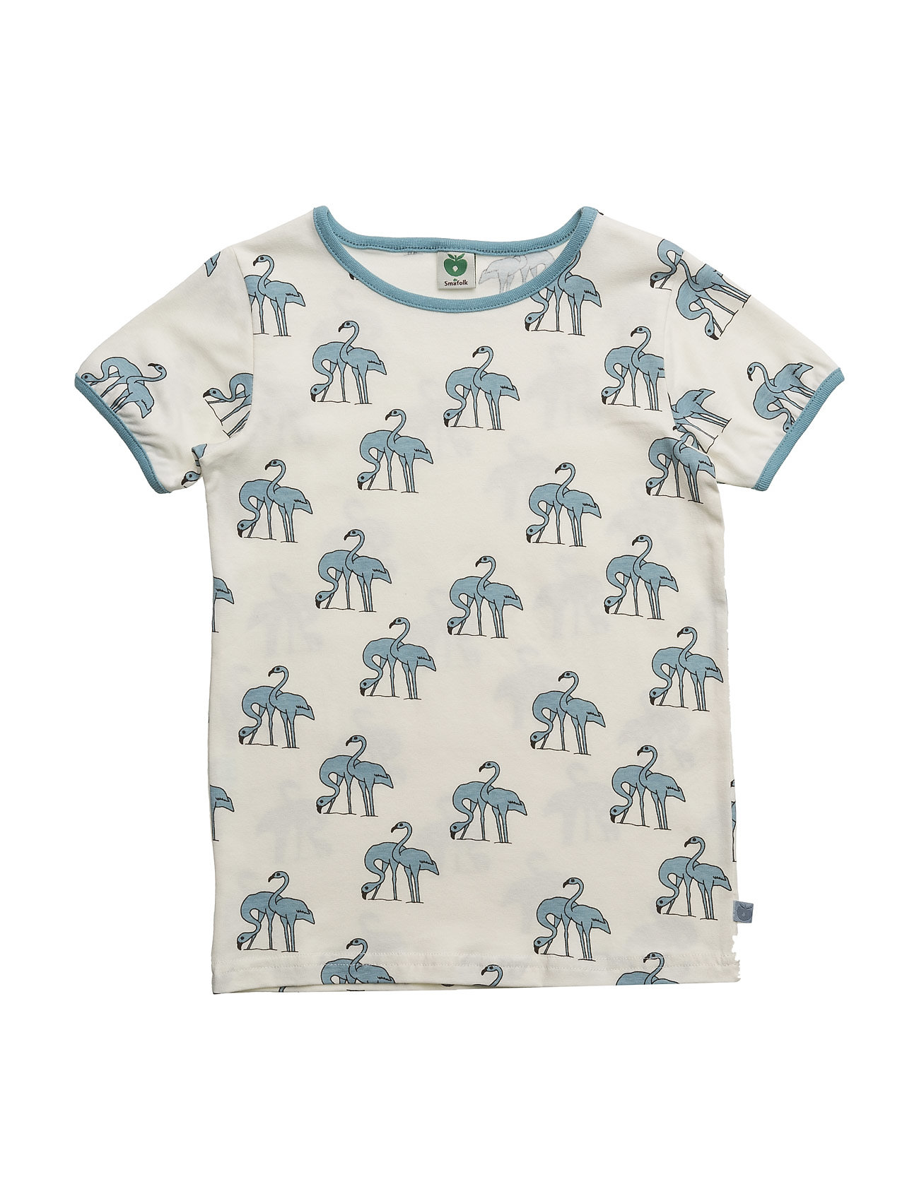 T-Shirt With Flamingos Småfolk T-shirts til Drenge i