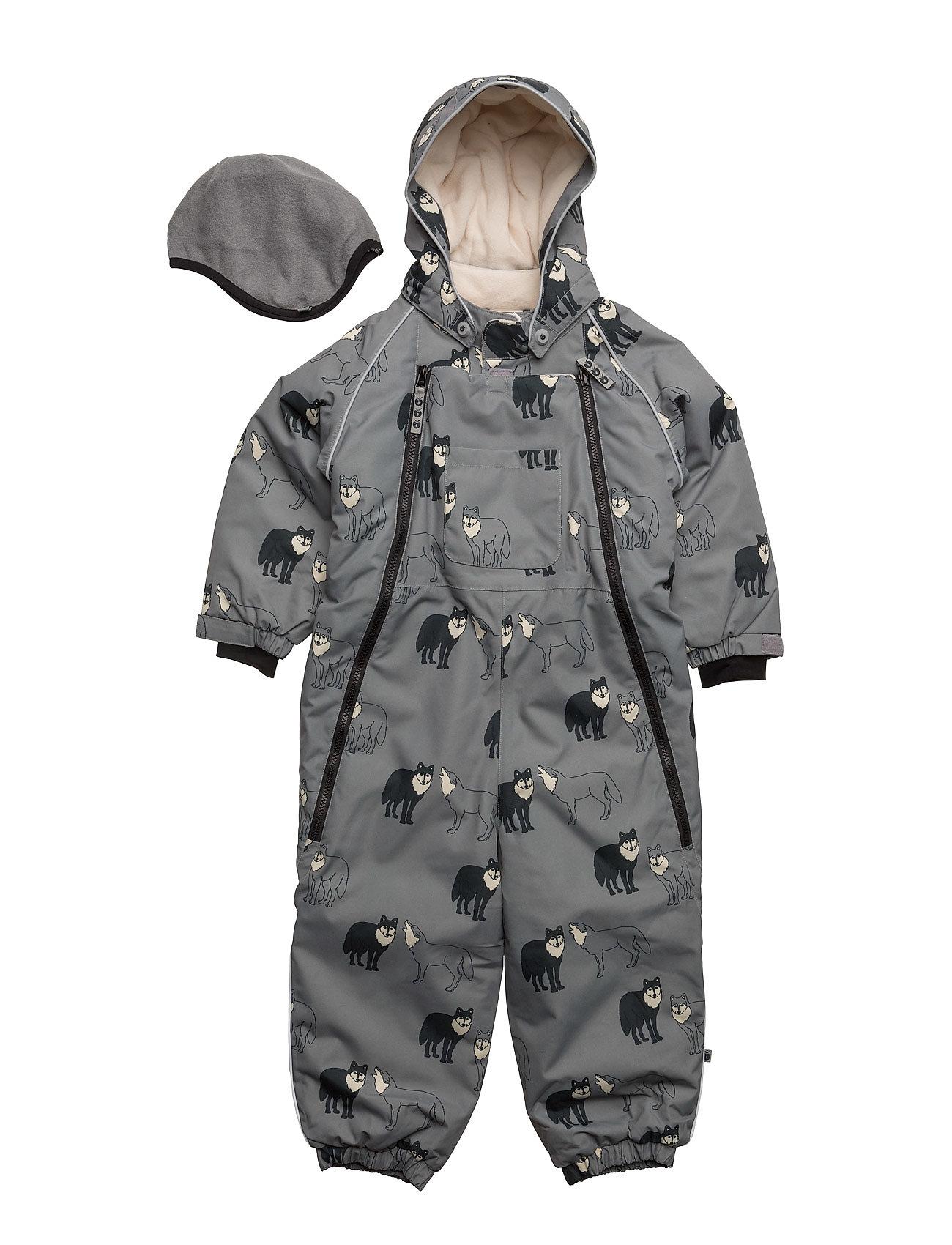 Snowsuit, 2 Zipper SmÂfolk Thermo & Softshells til Børn i