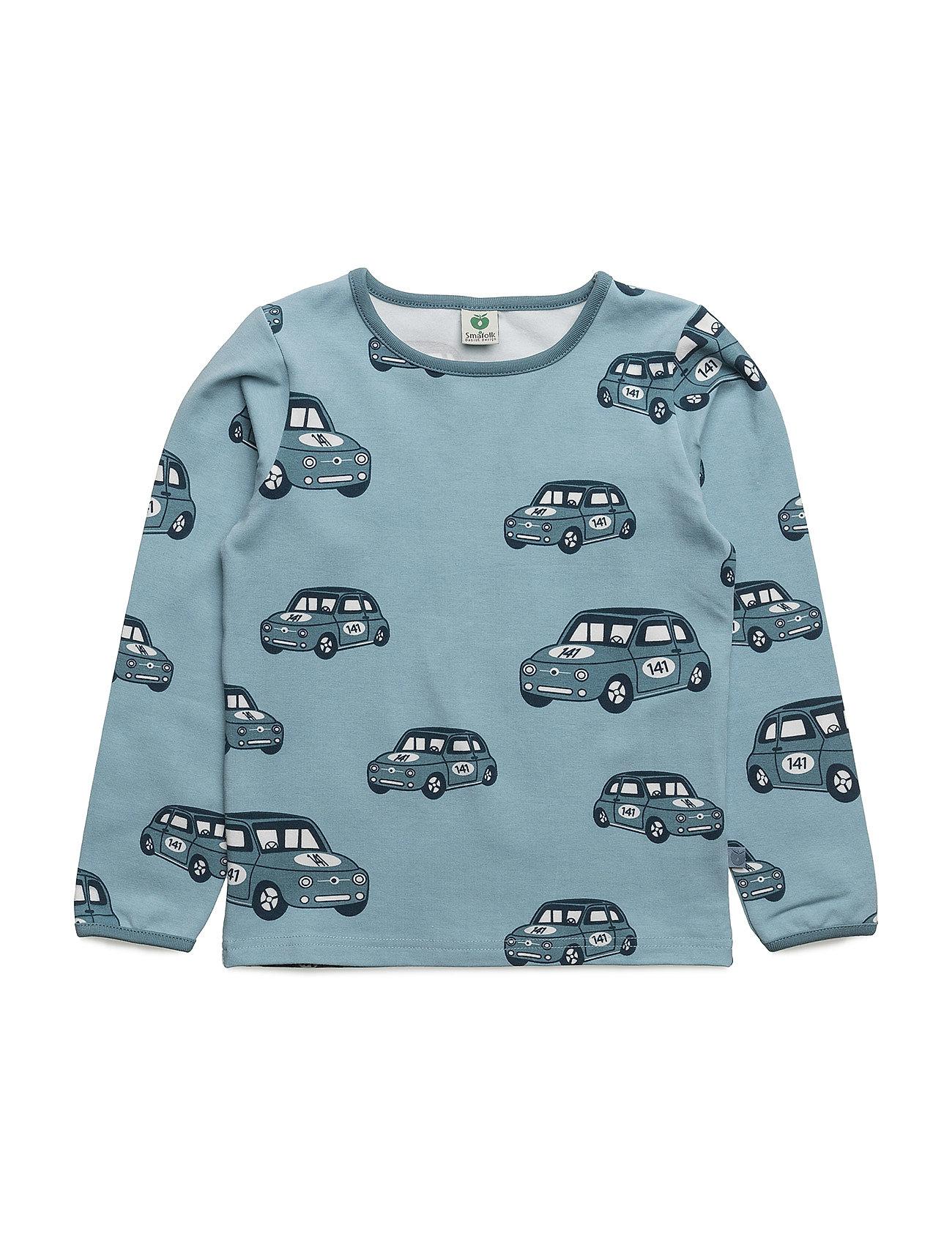 T-Shirt With Car SmÂfolk Langærmede t-shirts til Børn i