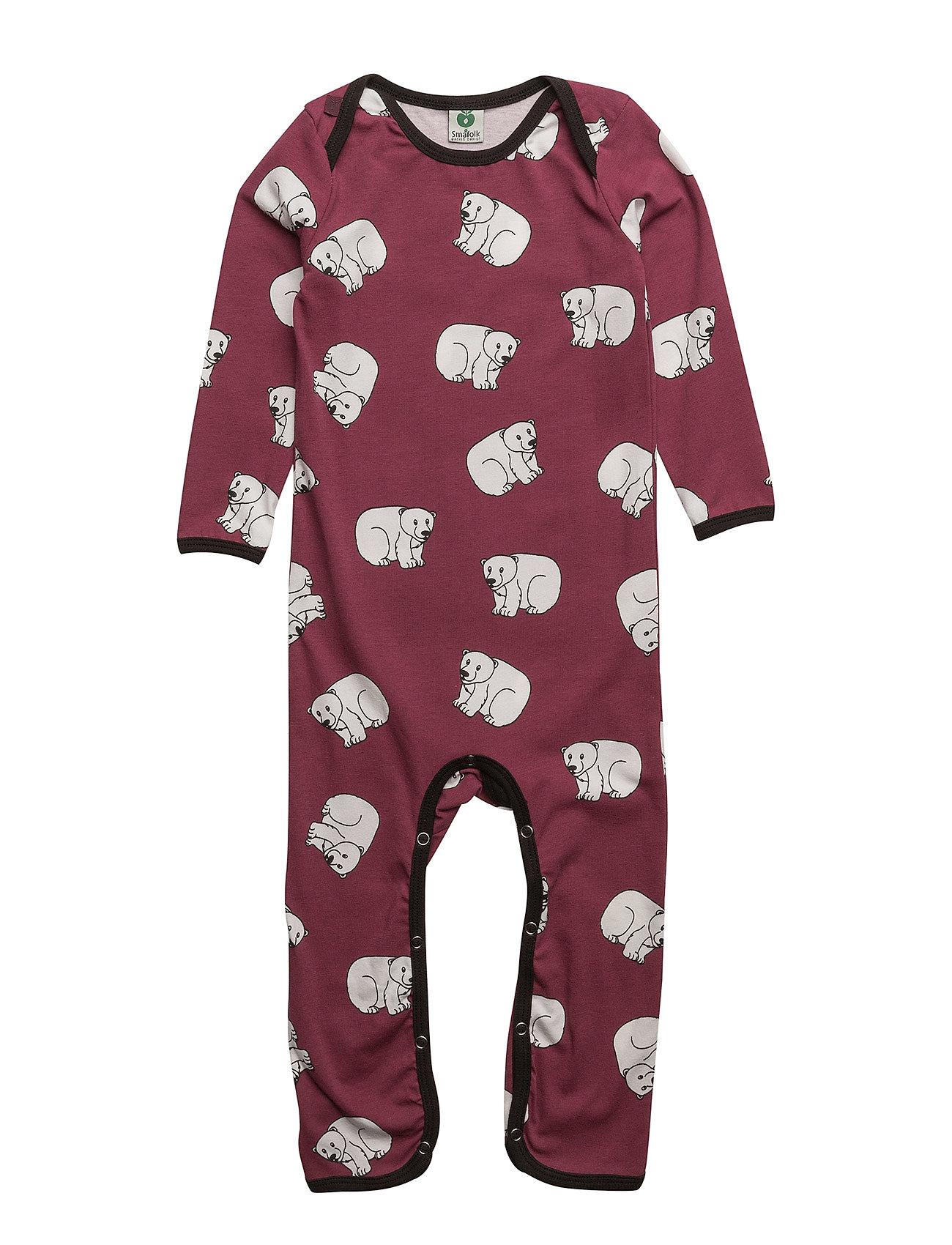 Body Suit With Polarbear SmÂfolk  til Børn i