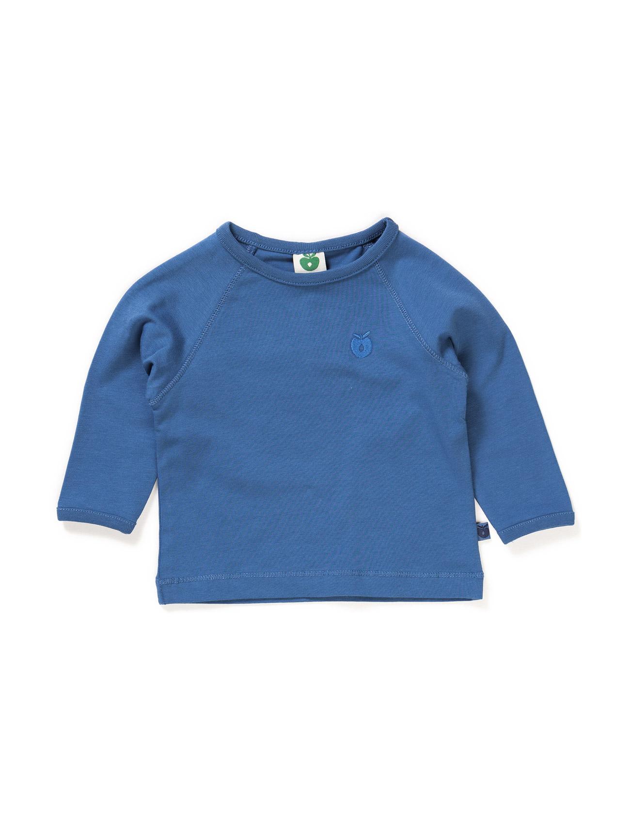 Solid Colored Baby T-Shirt Småfolk Langærmede t-shirts til Børn i