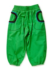 Baby pants baggy - Apple Green