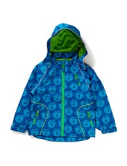 Spring Jacket Apples - Blue