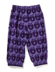 Jersey knickers with apples - M. Purple
