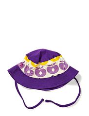 Sunhat with apples - Purple