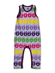 Suit in sweat with apples - Lt- Purple