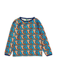 T-Shirt LS. Tigers - Turquise