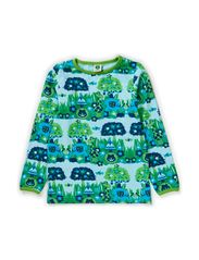 T-Shirt LS. Jungle - Lt. Blue