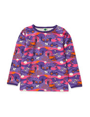 T-Shirt LS. Farm - M. Purple