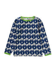 T-shirt LS. Apples - Navy