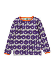 T-shirt LS. Apples - Purple