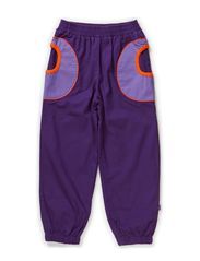 Baggy denim colored - Purple