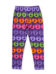 Leggins Multi Apples - Purple