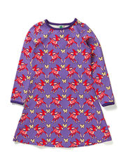 Dress LS. Deers - M. Purple