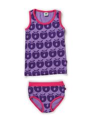 Underwear Girl. Apples - M. Purple