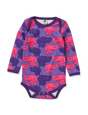 Body LS. Elephants - M. Purple