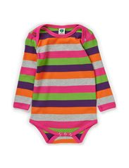 Body LS. Multi stripes - Purple