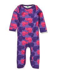 Body Suit. Elephants - M. Purple