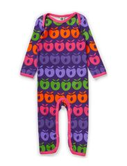Body Suit. Multi apples - Purple