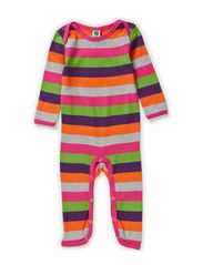 Body Suit. Multi stripes - Purple