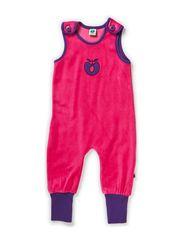 Body Suit. Velvet - Pink