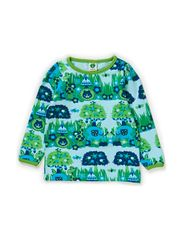 Baby T-shirt LS. Jungle - Lt. Blue