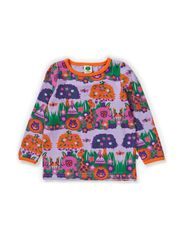 Baby T-shirt LS. Jungle - Lt. Purple