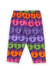 Baby Leggins. Multi apples - Purple