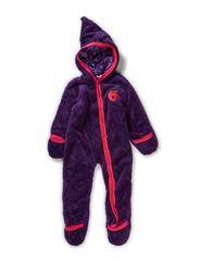 Baby Fleece Suit - Purple