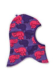 Baby Elephant Hood - M Purple
