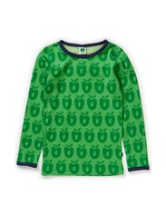 T-shirt Wool Apples - Apple Green