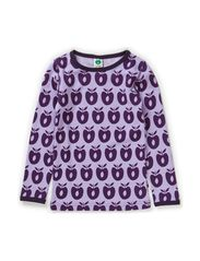 T-shirt Wool Apples - Lt. Purple