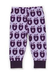 Baby Leggins Wool Apples - Lt. Purple