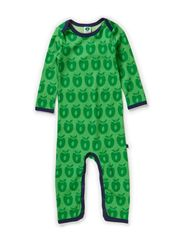 Body Suit Wool Apples - Apple Green