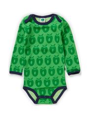 Body LS Wool Apples - Apple Green