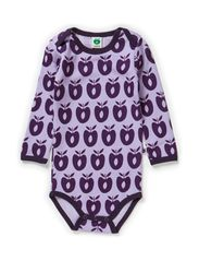 Body LS Wool Apples - Lt. Purple