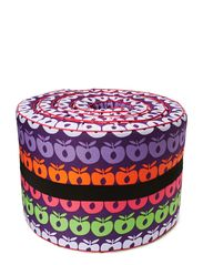 Bed Bumper. Multi apples - Purple